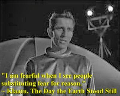The Day The Earth Stood Still   Klaatu quote   Nerd tastic Quotes
