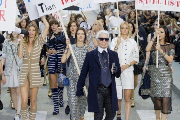 Karl lagerfeld fashion show 79