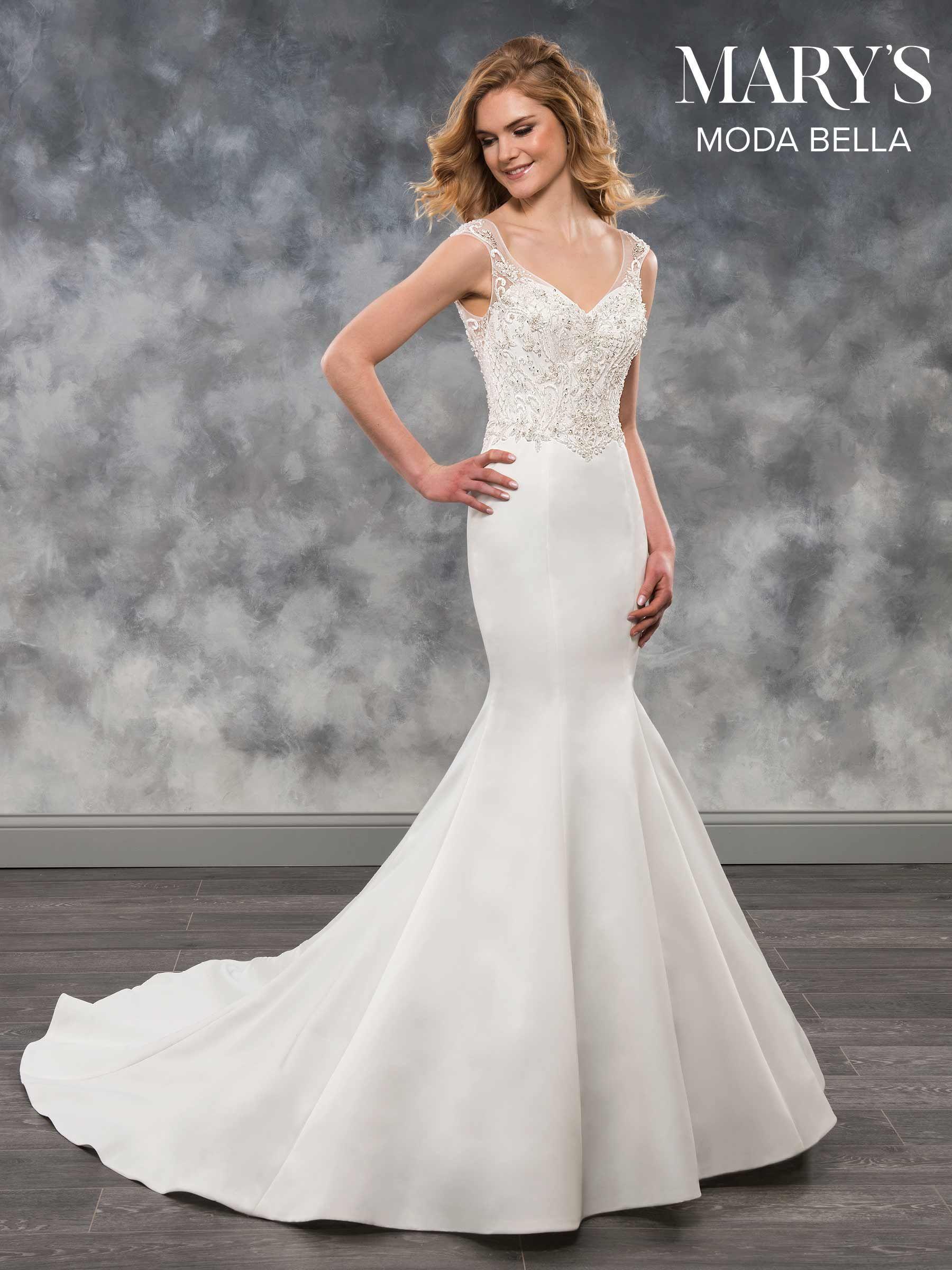Moda Bella Bridal Dresses Style Mb2027