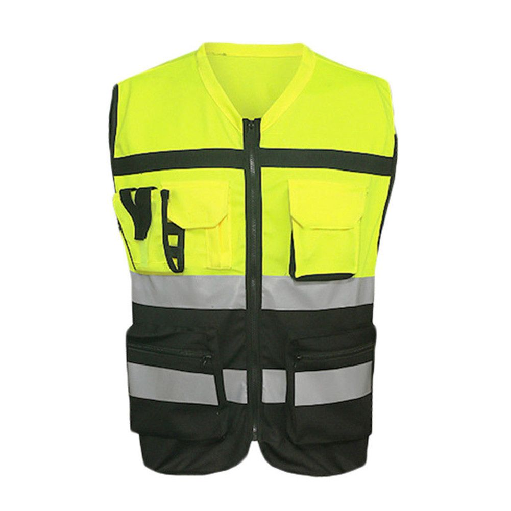 Safety Vest Reflective Driving Jacket Night Security