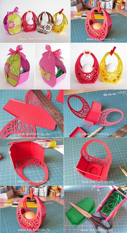 Easter baskets diy easter baskets easter and easter crafts easter baskets diy negle Image collections