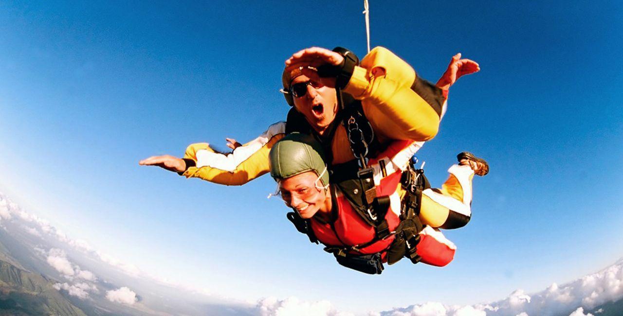 Fallschirm Tandemsprung In Dahlem Nrw Extremsportart