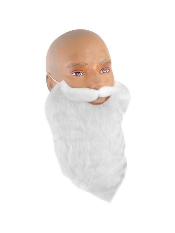 White Gnome Costume Beard #gnomecostume