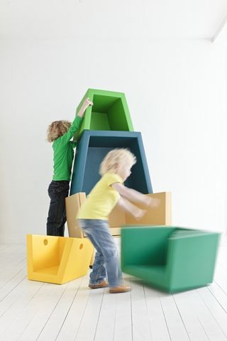 Totally Cool Stacking Chair And Modular Play Set! Children FurnitureKid ...