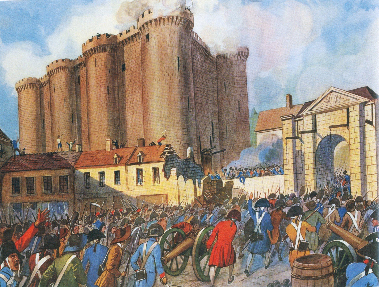La Prise De La Bastille Prise De La Bastille Histoire En Francais Bastille