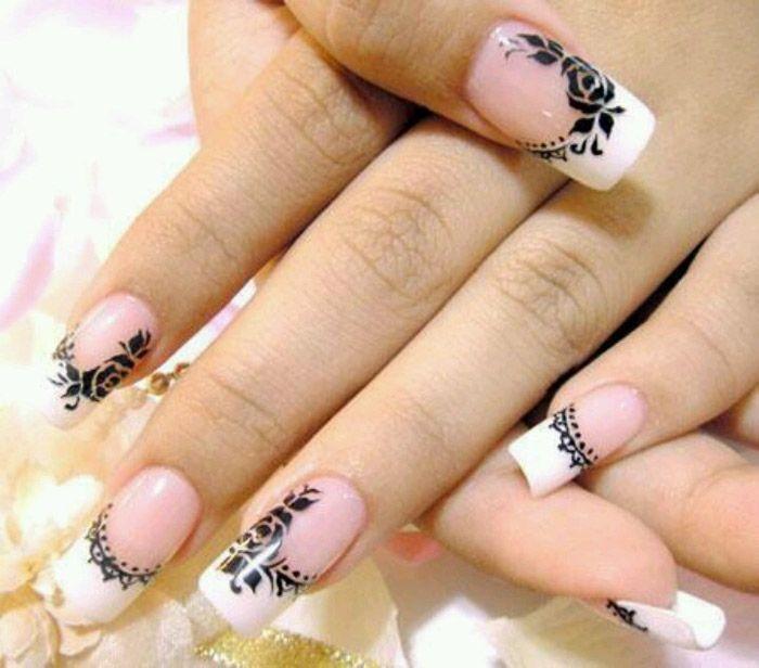 DIY Nail Designs Easy valentines heart crackle nail art nails ...