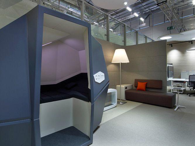 Office sleeping pod Cubicle Sleep On It In This Spaceage Nap Pod Coexist World Changing Ideas And Innovation Travel Leisure New World Puts New Spin On The Supermarket Commercial Love