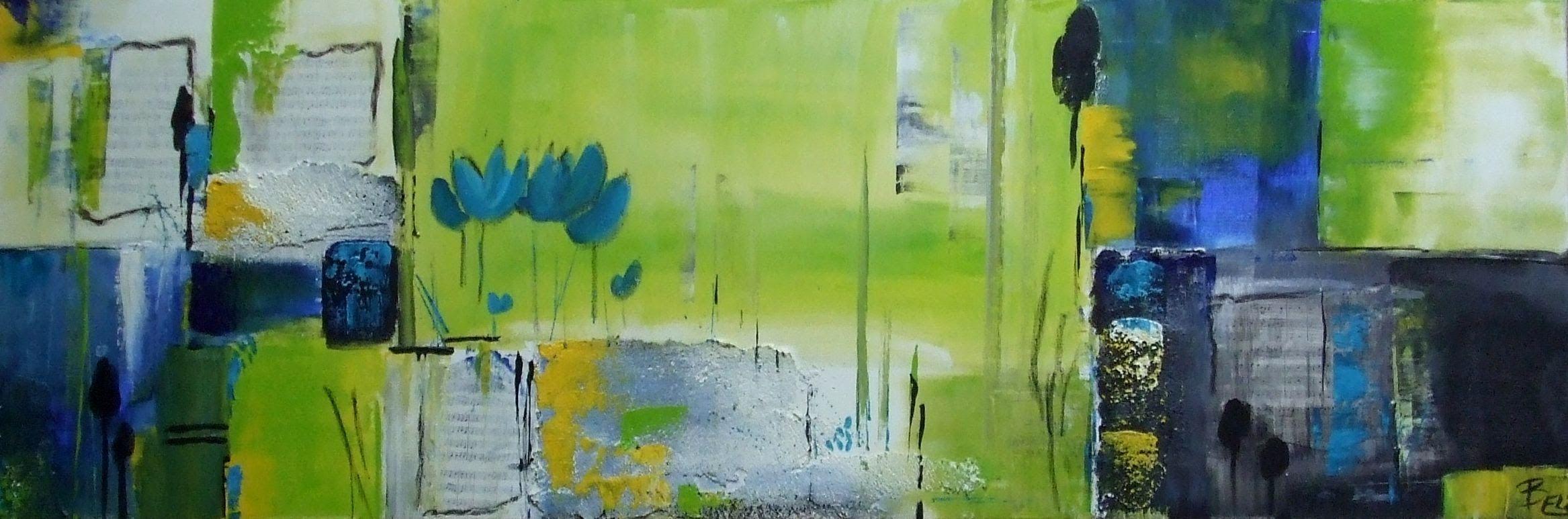 acrylmalerei abstract abstrakt fr hling springtime malen pinterest acrylmalerei. Black Bedroom Furniture Sets. Home Design Ideas