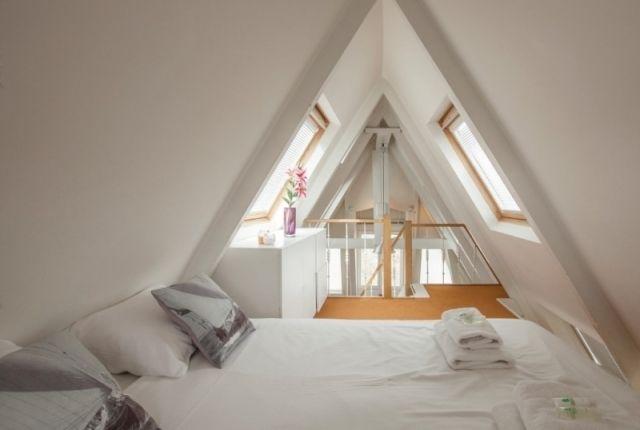 Dachboden Schlafzimmer ~ Bedroom museum view apartment ii amsterdam pinterest