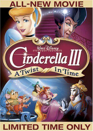 Cinderella Iii A Twist In Time 11 17 13 Walt Disney Movies