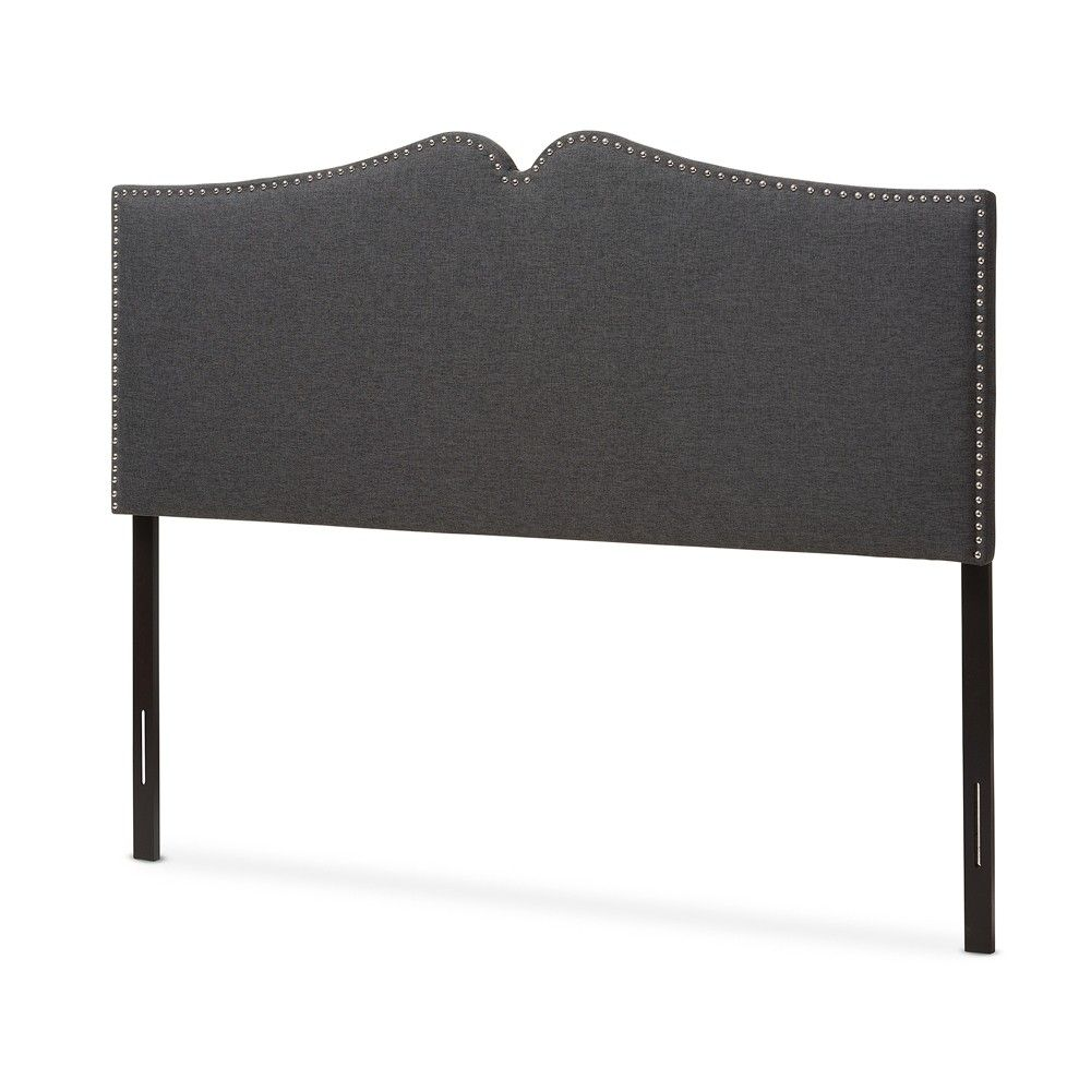 Gracie Modern And Contemporary Fabric Upholstered Headboard With