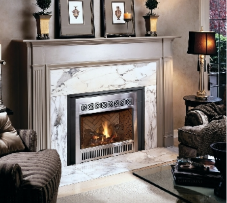 Many gas fireplaces and inserts offer multiple face