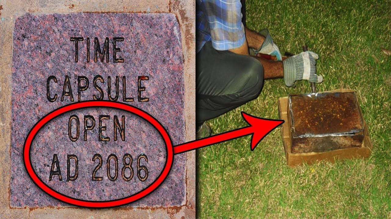 Top 15 Scary Things Found in Time Capsules YouTube