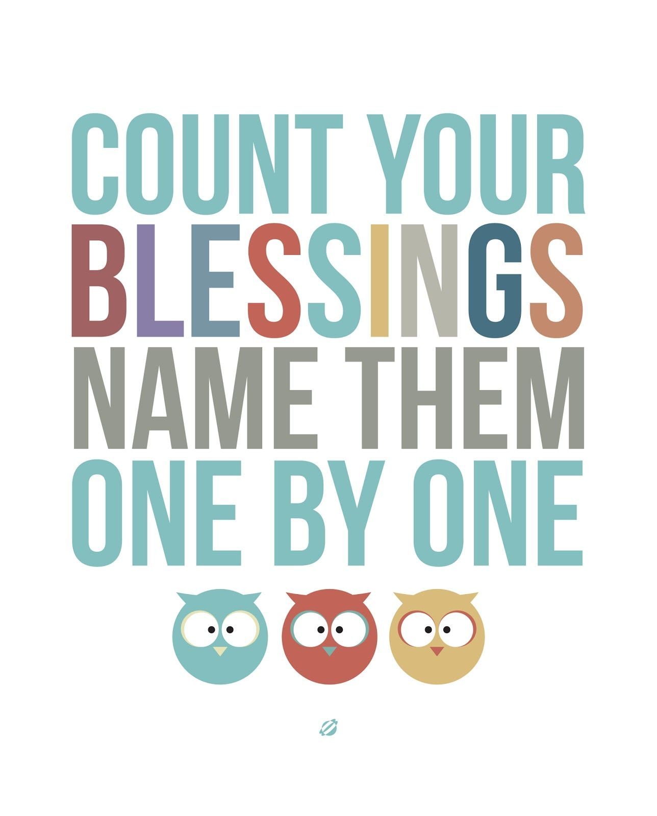 LostBumblebee 2013- COUNT YOUR BLESSINGS- Free Printable | For the ...