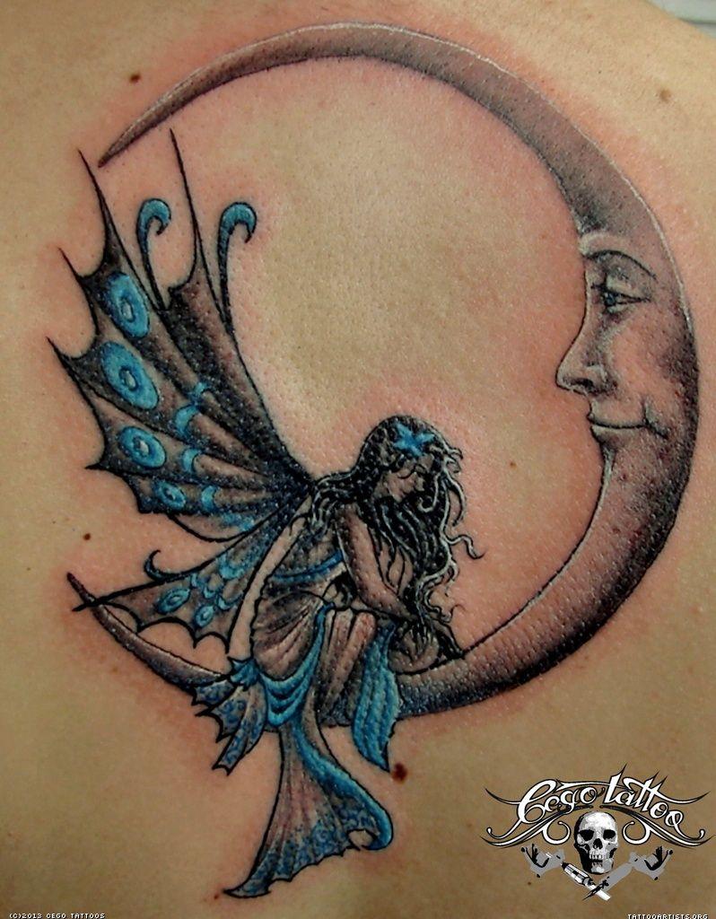 Related: Moon Tattoo Sun Fairy Tattoo Moon Fairy Tattoo Meaning ...