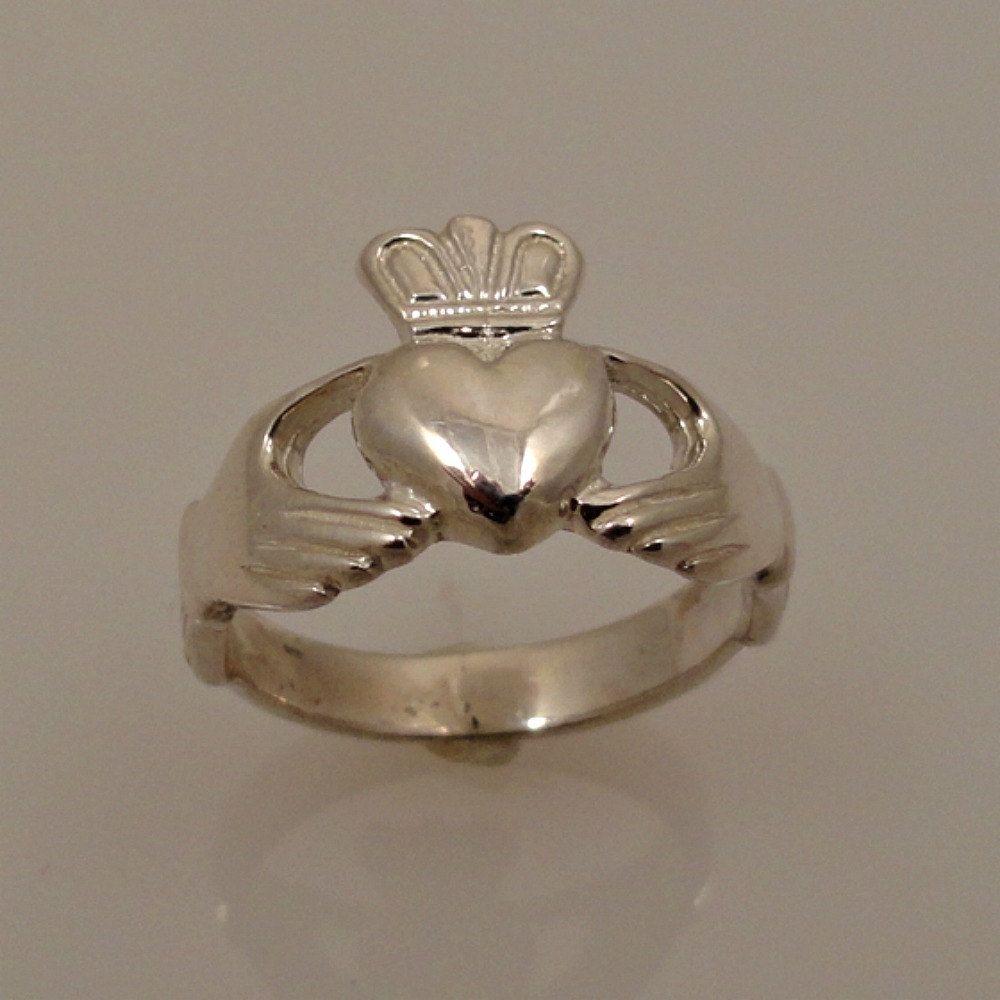 Sterling Silver Claddagh Silver, Claddagh, Sterling silver