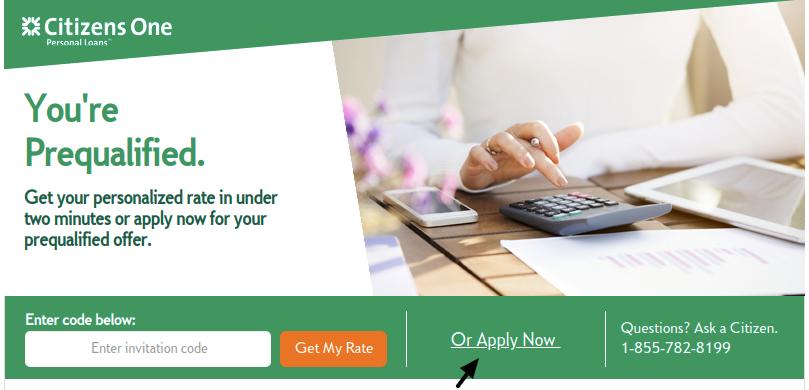 Www Citizensone Com Amazon150 Application Process For Citizens One Personal Loan In 2020 Personal Loans Loan Person