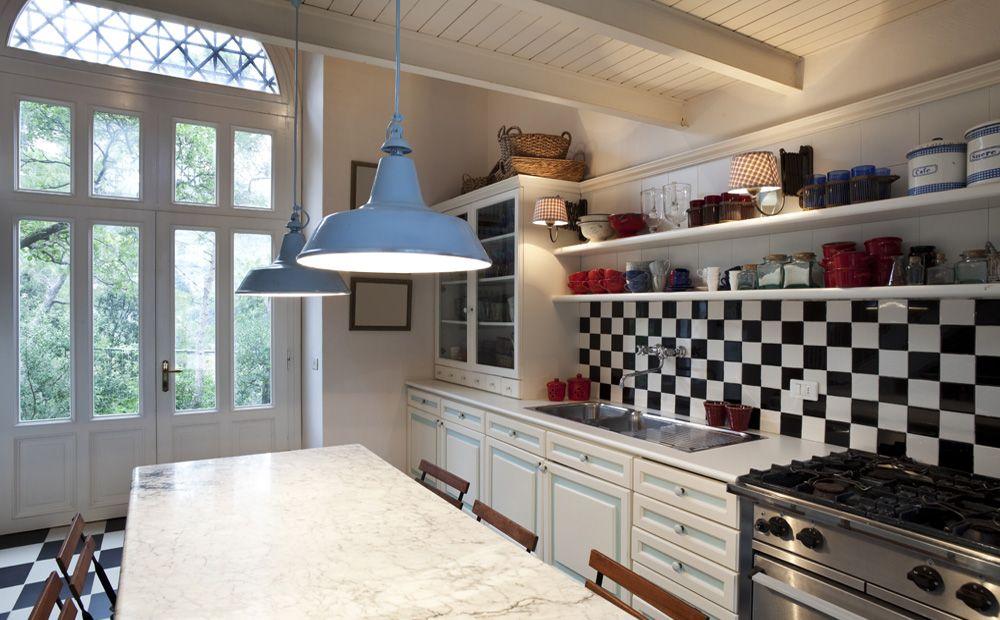 Mooie Eclectische Woonkeuken : Witte inrichting in eclectische stijl homey keuken