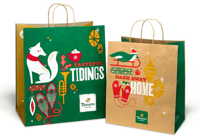 Panera Bread 2013 Holiday Packaging Holiday Packaging Design Holiday Packaging Holiday Brands
