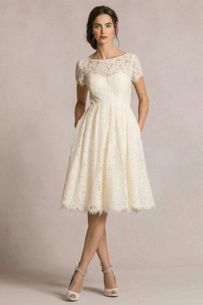 ▷ 1001+ ideas de vestidos de novia cortos y elegantes | eventos