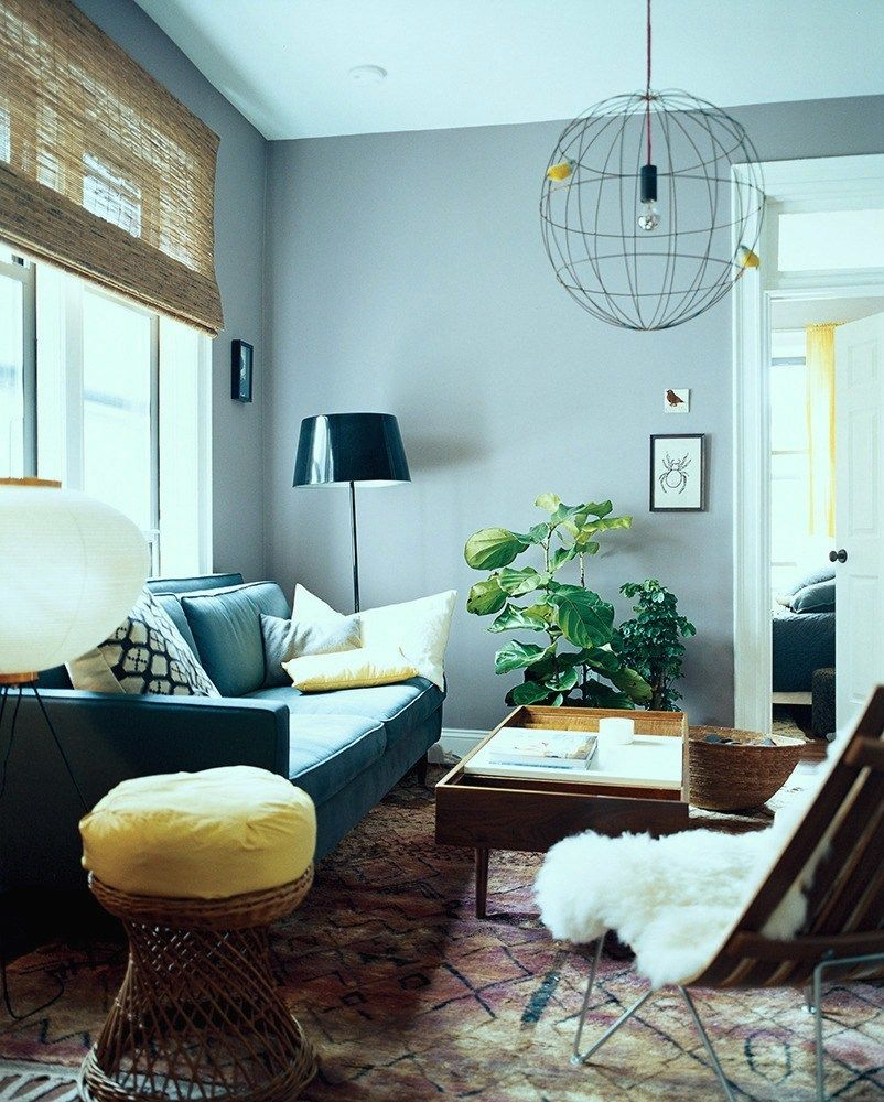 Cool Living Room Colors: 9 Fabulous Benjamin Moore Cool Gray Paint Colors