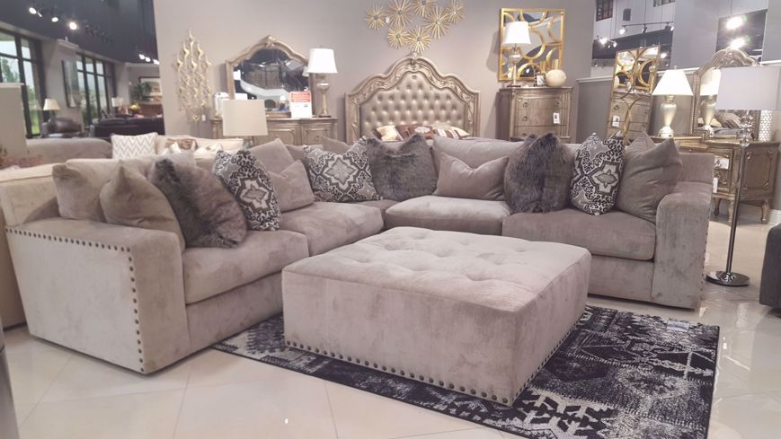 Emma Putty Sectional With Images