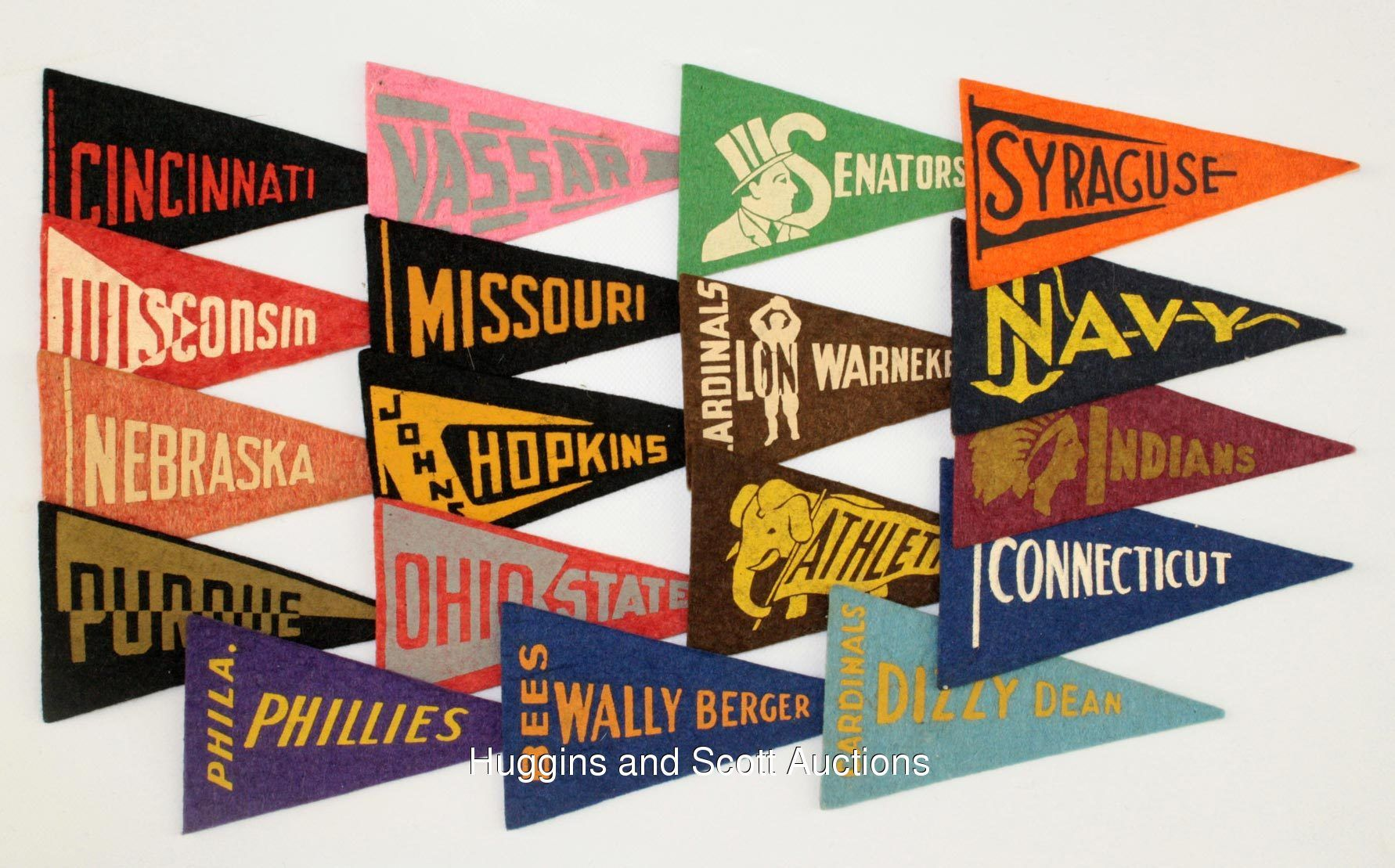 College Flags /& Banners Co Yale Pennant Full Size Felt