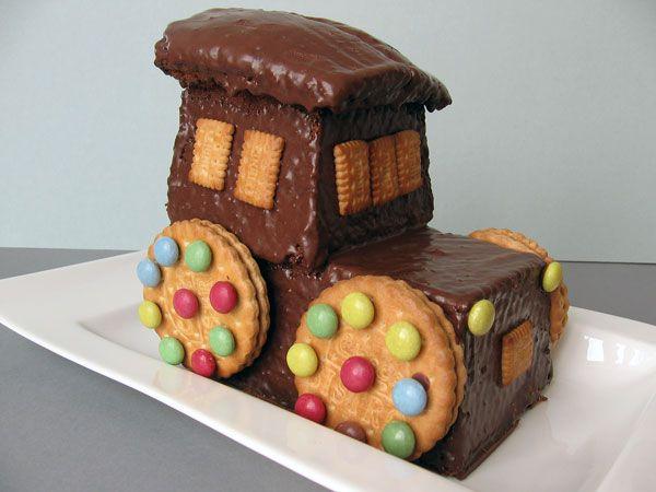 Traktor Kuchen Rezept Und Bild Lustig Essen Traktor Kuchen Essen Fur Kinder