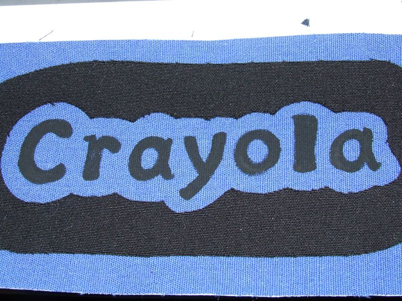 Crayola Crayon Logo Template   Spirit days   Pinterest   Crayons ...