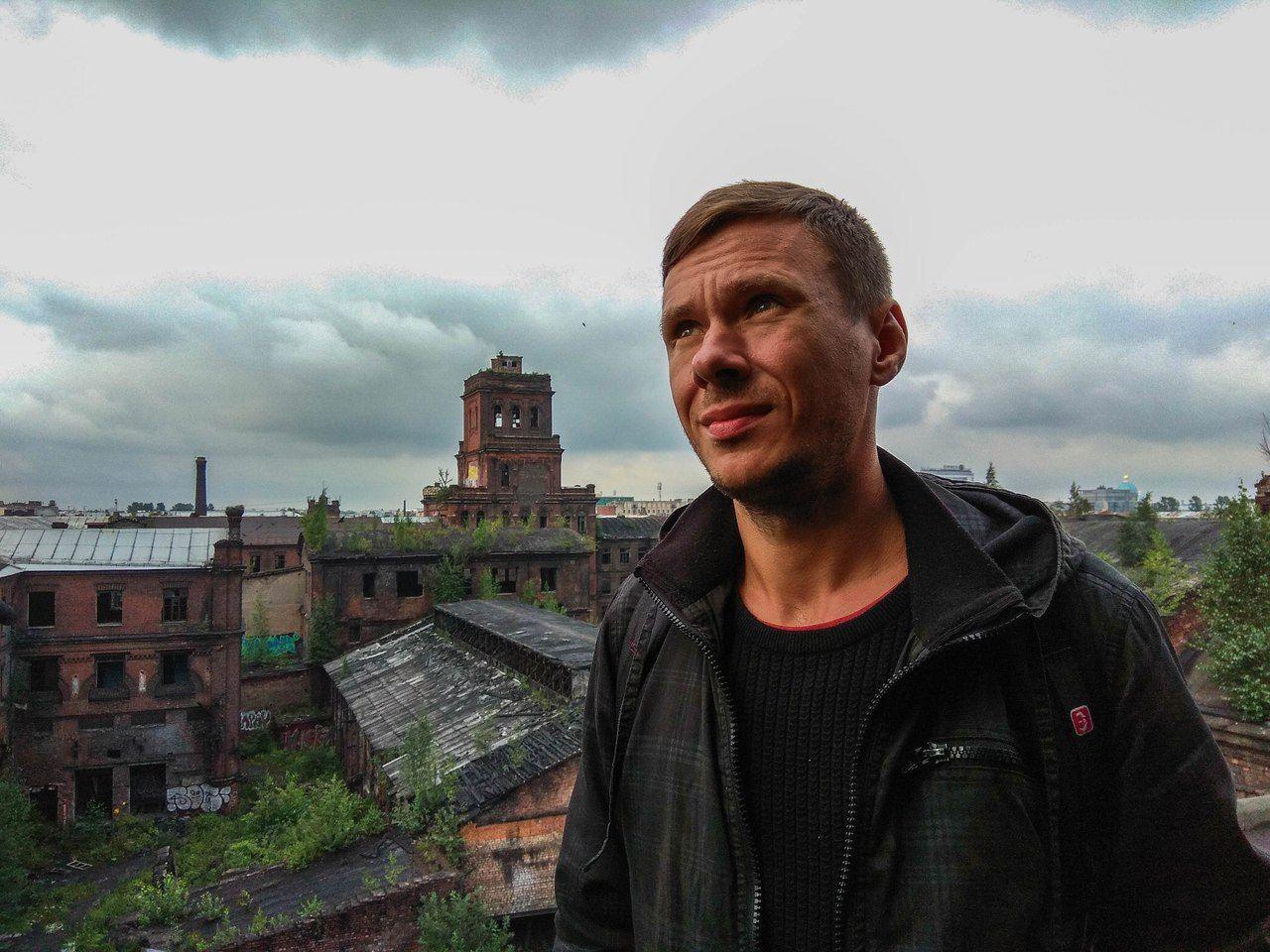 Евгений, гид по подземельям, городам-призракам и заводам