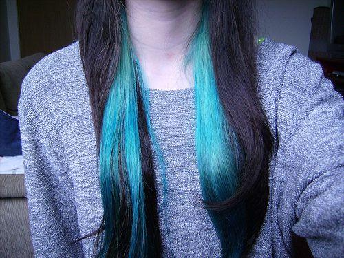 cabelos coloridos turquesa tumblr - Pesquisa Google