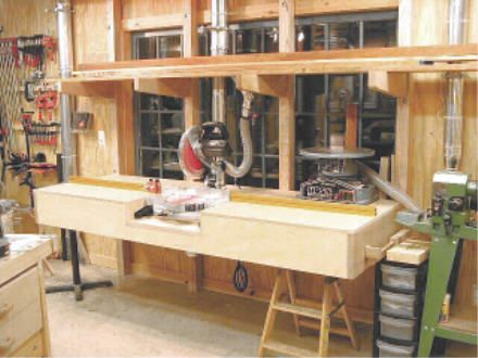 Miter Saw Stand Woodworking Shop Layout Woodworking Shop Miter Saw