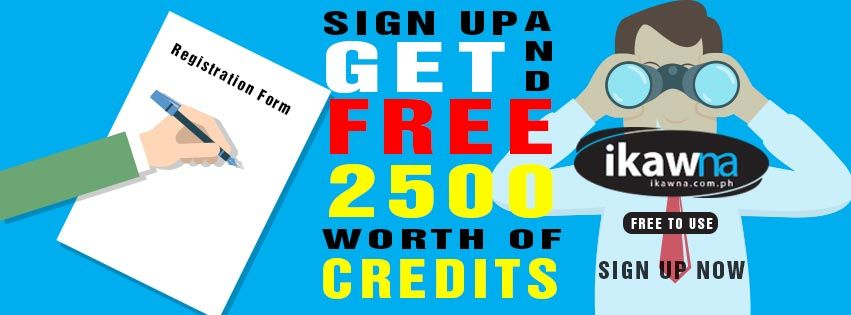 Sign Up Now And Get Free Credits At Ikaw Na Buy And Sell Philippines Buy And Sell Ph Net Free Signup Buy And Sell