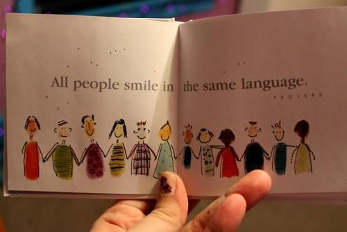 Great reminder when I'm trying to talk to Guatemalan kids!