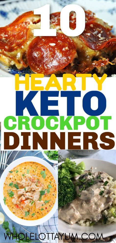The 20 Best Keto Crockpot Recipes That Make Perfect Comfort Foods #ketorecipesforbeginners