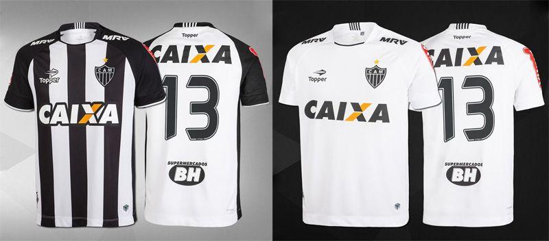 Camisas do Atlético-MG 2017 Topper  fb656796493cc