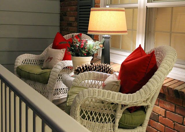 I need a lamp on my front porch.  NEED.