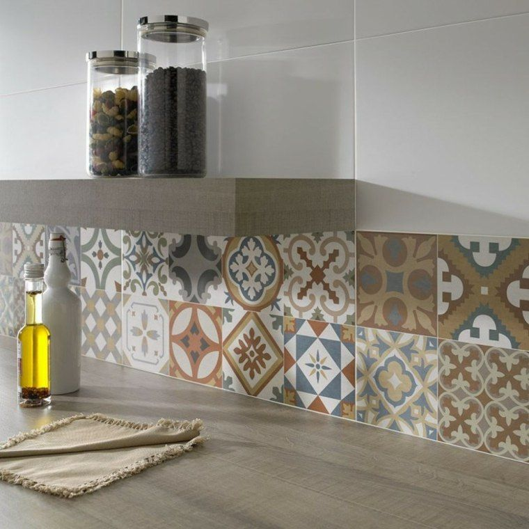 Carrelage marocain un art en forme de carreaux - Appartement au design traditionnel moderne colore ...