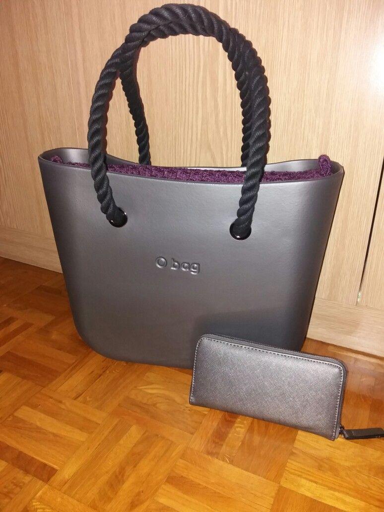 21db4b27a055 my lovely bag #o'bag #graphite | Obag