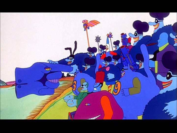 Meanies. | Illustration | Yellow submarine movie, Yellow ...