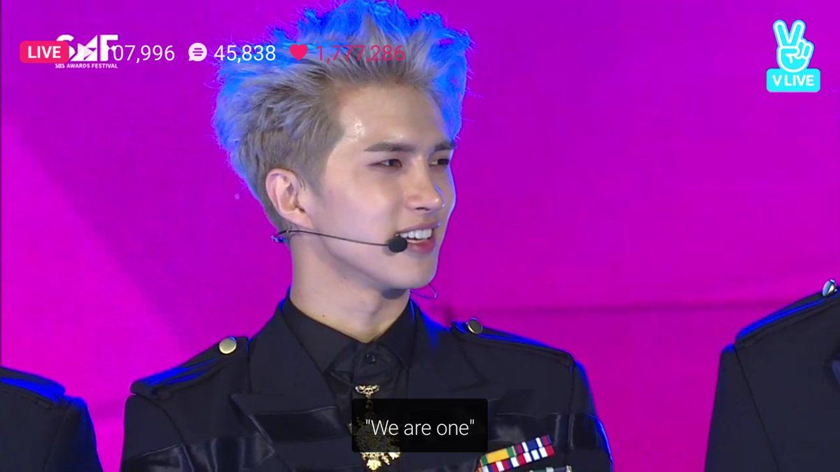 161226 VIXX The Closer Performance @ SAF Boom Up Show N's Answer: VIXX is complete with Starlights Ken's Answer: we are one   ST★RLIGHT_WITHVIXX