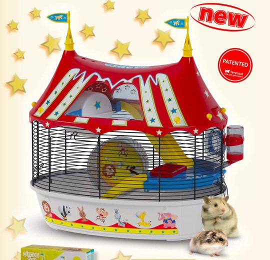 Circus Themed Hamster Cage Cool Hamster Cages Hamster Cage Hamster Cages