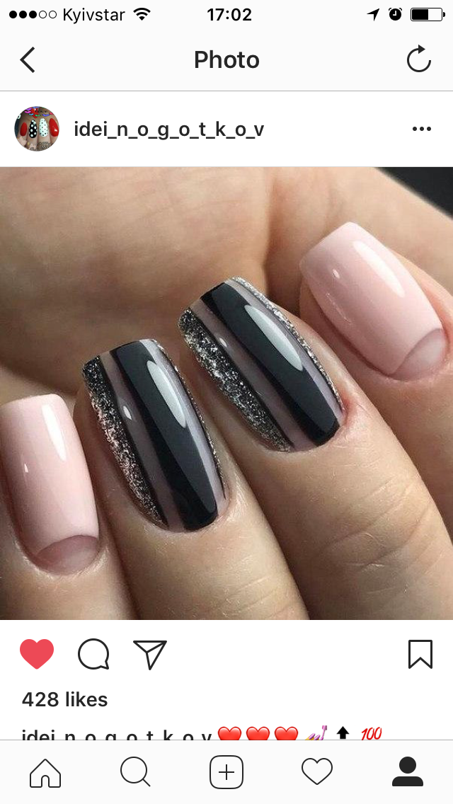Pin by Elizma Lubbe on Nails   Pinterest   Manicure, Beauty nails ...