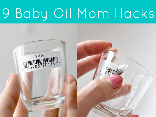 9 #lifehacks you never know you could do with baby oil #parenting #moms