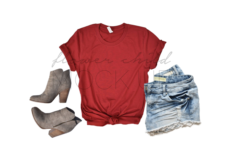 Download Download Free 3001 Cardinal Red Bella Canvas T Shirt Mockup Bella Canvas Psd Free Psd Mockups Templates Clothing Mockup Mockup Free Psd Free Packaging Mockup