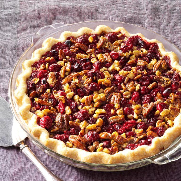 Cranberry doublenut pie recipe in 2020 thanksgiving