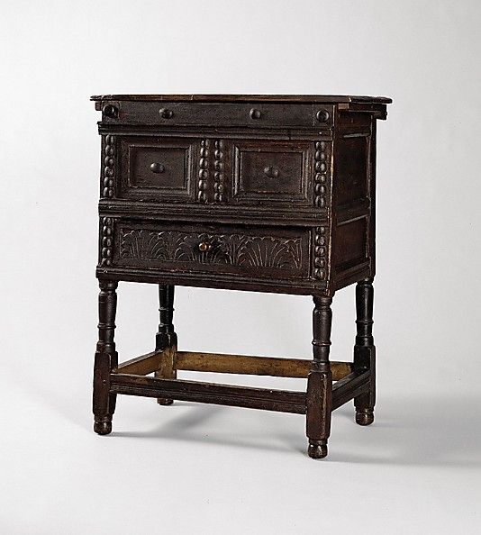 European Home Design Nyc: 1650-1700 American (Massachusetts) Chamber Table At The