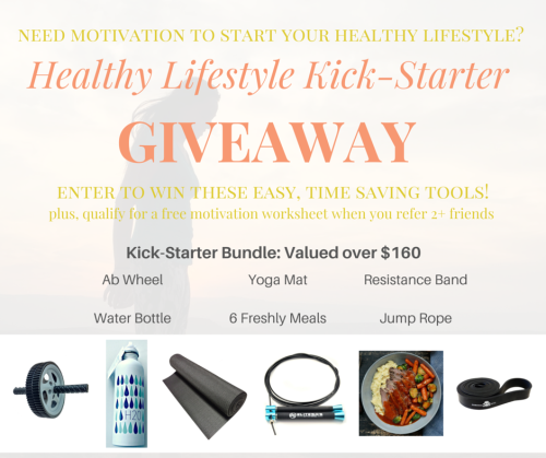 GIVEAWAY! Healthy Lifestyle Kick-starter Bundle! via... IFTTT reddit giveaways freebies contests