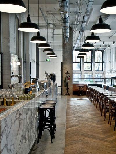 george deli u.s.a., utrechtsestraat amsterdam | cafes restaurants, Innenarchitektur ideen