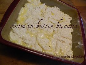 The Wednesday Baker: BUTTER SWIM BISCUITS #butterswimbiscuits